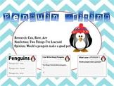 Penguing Writing - Research, Informative, Opinion - Kindergarten, First Grade