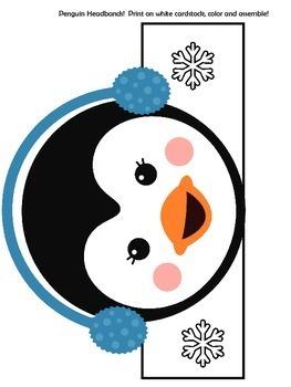 Penguins Activity   Penguins Craft   Penguins Unit   Penguins Winter