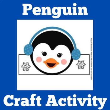 Penguins Activity | Penguins Craft | Penguins Unit | Pengu