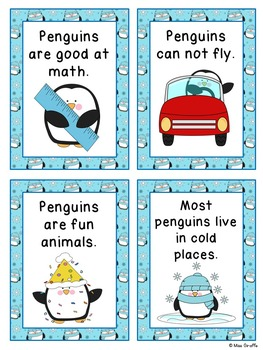 Penguins Math and Literacy Activities