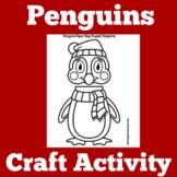 Penguin Craft | Penguin Craftivity | Penguins Kindergarten