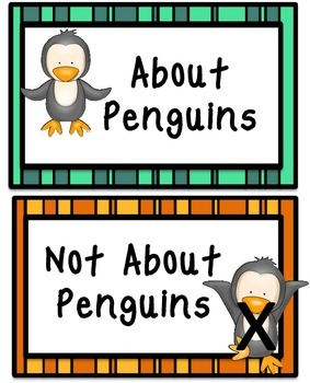 Penguins Literacy Center
