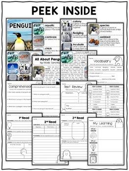 Penguin Activities Nonfiction Unit