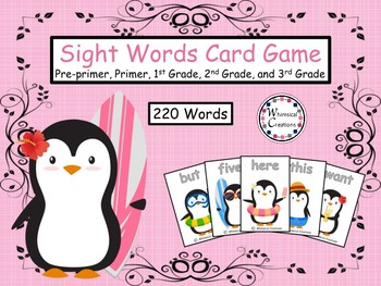Penguins 220 Sight Words