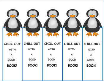 Penguins, Bookmarks Freebie, Antarctic Animals Fun, Winter Activities