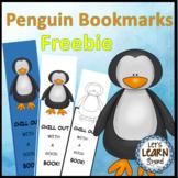 Penguins, Bookmarks Freebie, Antarctic Animals Fun, Winter Activities