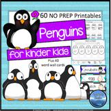 Penguins Kindergarten Unit: Penguin Math and Language Activities