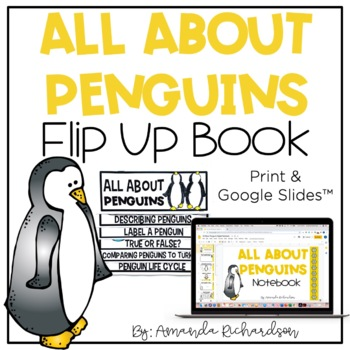 Penguins Flip Up Book