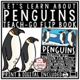 All About Penguins Activity Flip Book- Winter Science 2nd Grade, 3rd Grade