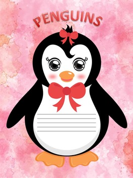 Penguins - Activities - Writing - Editable Labels