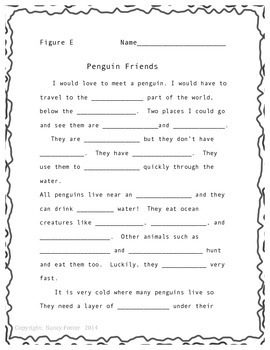 Penguins!  An Informational Reading Strategy to Build Comprehension and Fluency