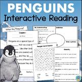 PENGUINS Nonfiction Reading Comprehension Interactive Activity Book