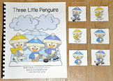 """Penguins Adapted Book (Position Words)--""""Three Little Pengins"""""""