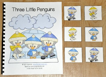 "Penguins Adapted Book (Position Words)--""Three Little Pengins"""