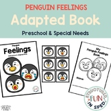 Winter Activities Penguin Feelings for Preschool, Pre-K an