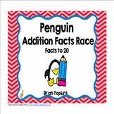 Penguins Addition Facts Race