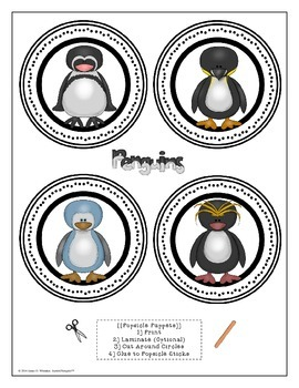 Penguins All About Penguins Interactive Research Activities