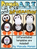 Penguin Life Cycle Art- Life Cycle of a Penguin Art Activity and Information Art