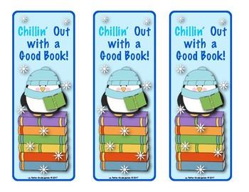 Penguins Book Mark