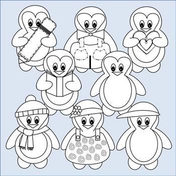 Penguins Clip Art