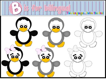 Penguins Clip Art