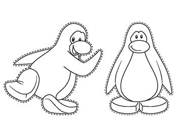 Penguins-Coloring Pages