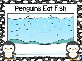 Penguins Eat Fish:  NO PREP Take Away Game