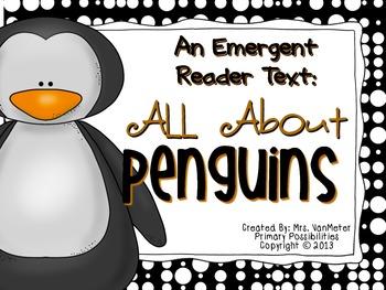 Penguins Emergent Reader Text