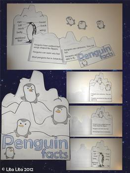Penguins Facts Fold and Learn