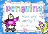 Penguins {Fun Literacy and Math Activities}
