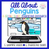 Penguins Google Slides Interactive Resourse