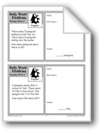 Penguins (Grade 2 Daily Word Problems-Week 2)