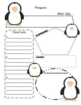 Penguins Graphic Organizer