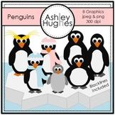 Penguins Clipart {A Hughes Design}