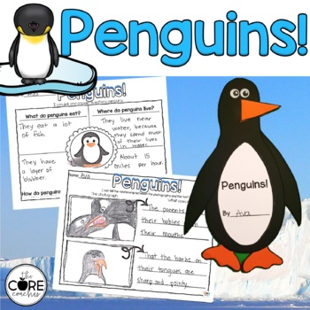 Penguins!: Informational Interactive Read-Aloud Lesson Plans and Activities