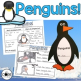 Penguins: Informational Interactive Read-Aloud Lesson Plans and Activities