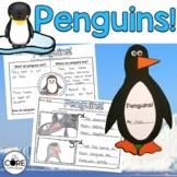 Penguins: Informational Interactive Read-Aloud Lesson Plan
