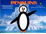 Penguins-Informational Text Booklet & Fun Literacy Activit