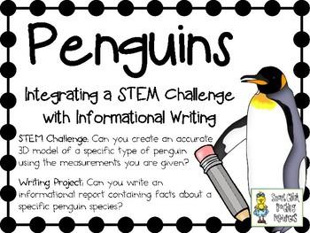 Penguins!  Integrating a STEM Challenge with Informational