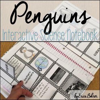Penguins Interactive Science Notebook