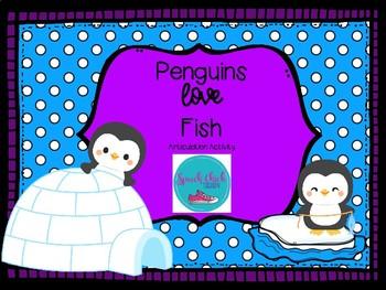 Penguins LOVE Fish: An Articulation Activity