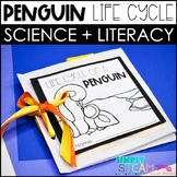 Penguins Life Cycle Print & Go Mini - Book and Activity Page