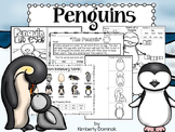 Penguins: Life cycles, interactive, & differentiated!