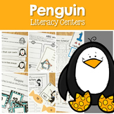 Penguins-Literacy Center Fun