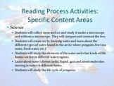 Penguins Literature Focus Unit