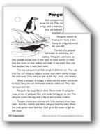 Penguins/Los pingüinos