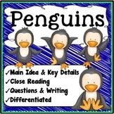 Penguins Main Idea and Details
