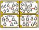 Kindergarten Winter Math Centers, Addition Task Cards for Penguin Activities