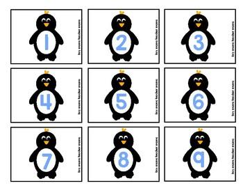 Penguins Math Pages