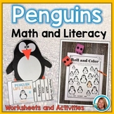 Penguins Math and Literacy